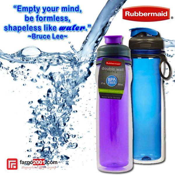 Rubbermaid Double Wall Bottle ! Botol dengan dua lapis dinding sehingga bagian luar tidak basah berembun! http://fargo2001.com/housewares-315/food-storage-338/rubbermaid-339/rubbermaid-double-wall-bottle-1268.html