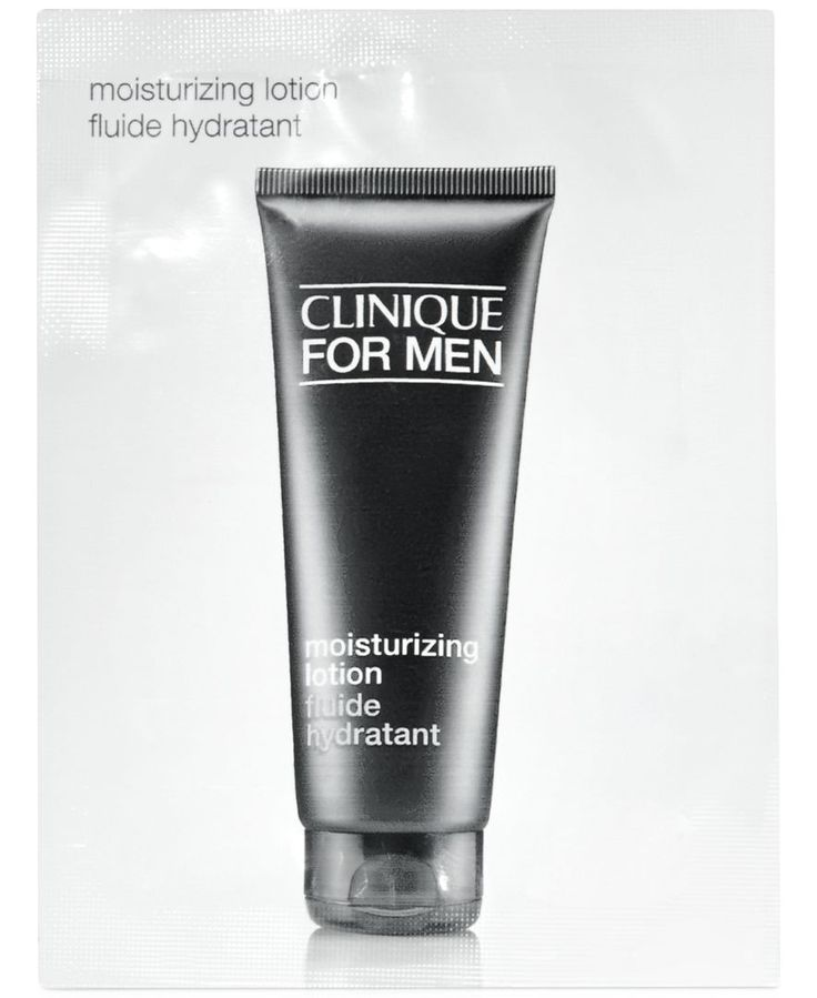 Receive a Free Clinique For Men Moisturizer Packette with qualifying men's purchase
