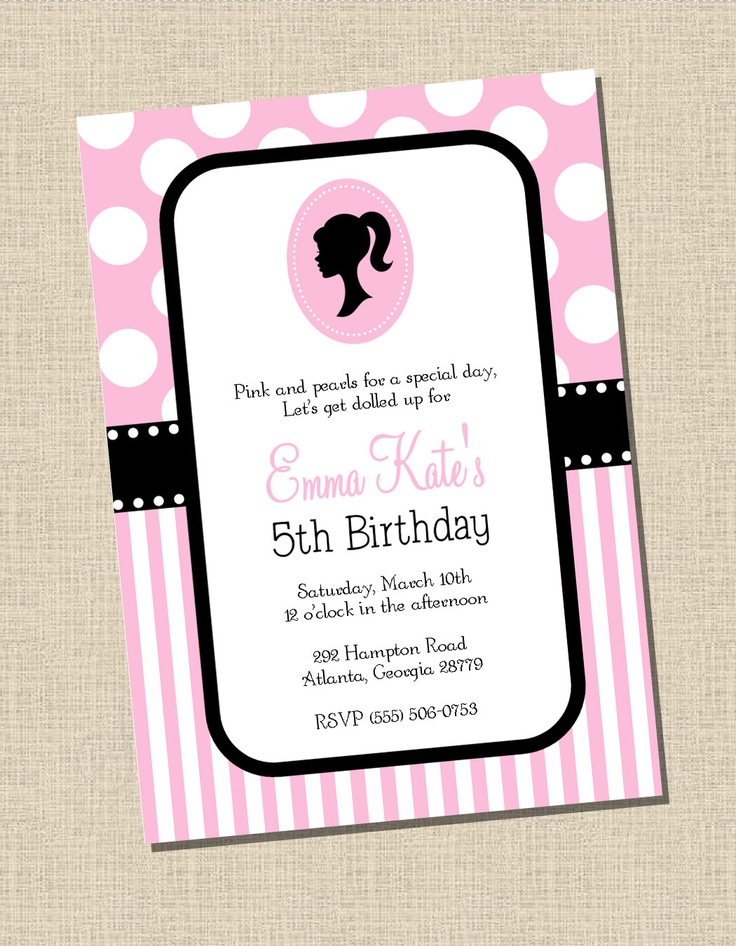 93 best Lets Party....Invitations! images on Pinterest | Birthday ...