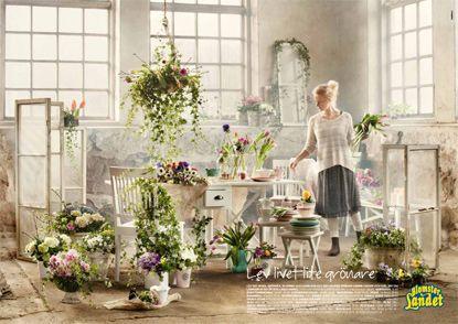 Blomsterlandet (ad by Stendahls)