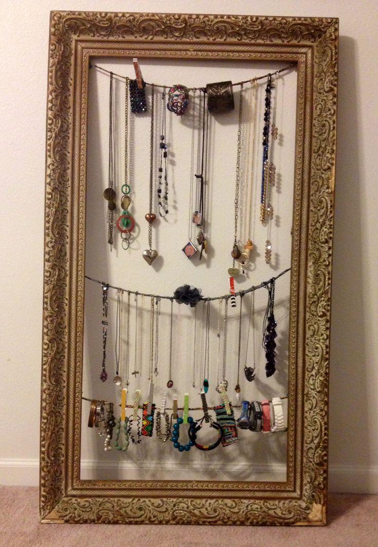 After, unique jewelry display! | Done! | Pinterest ... Unique Bracelet Displays