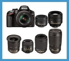 found all photographic Nikon D3200 compatible lenses that exist made by Nikon, Tamron, Sigma and Tokina