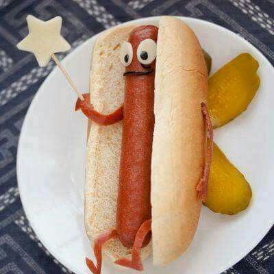 Hot dogs on the 4th of July