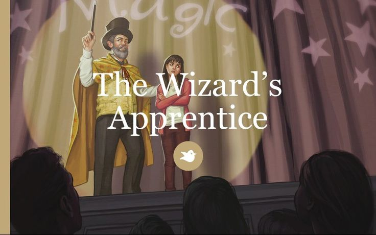 Mara wants to become the wizards apprentice. But is she ready for a life of adventure and danger.