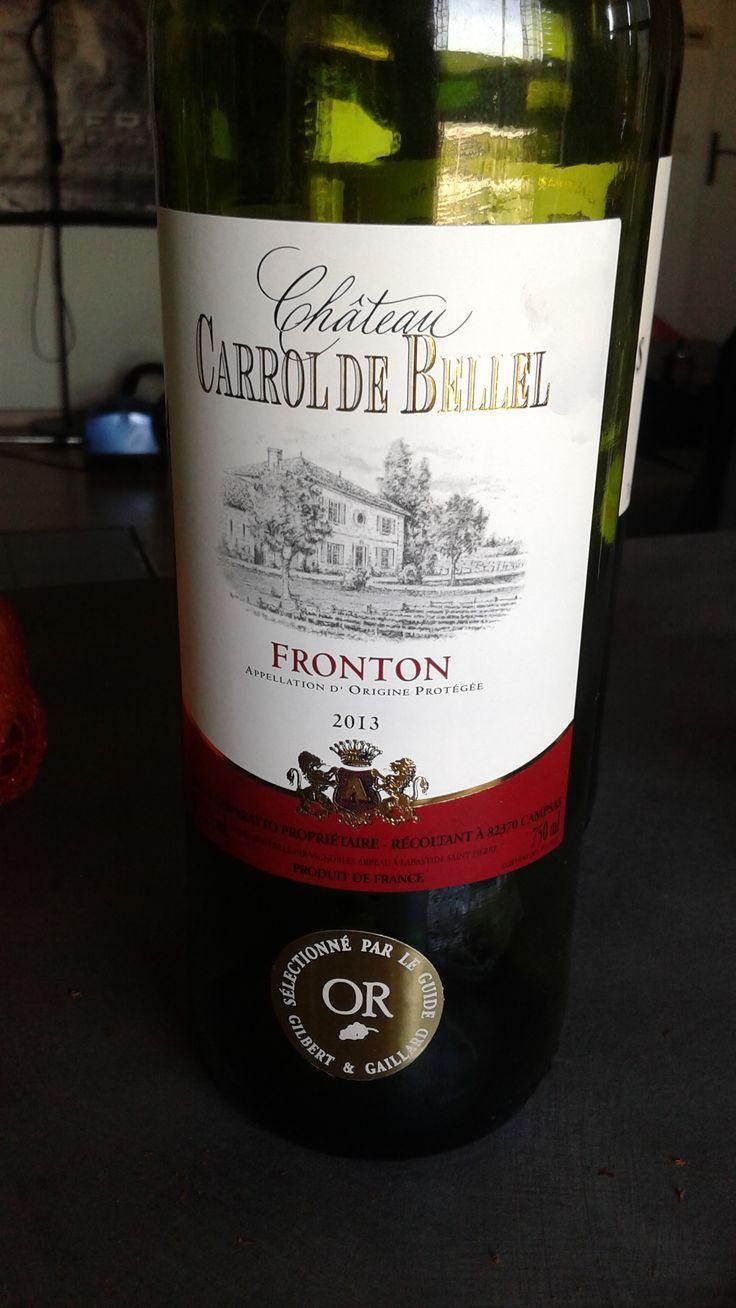 fronton 2013 vin rouge