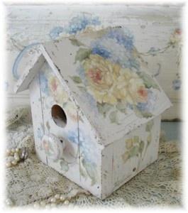 Debi Coules birdhouse