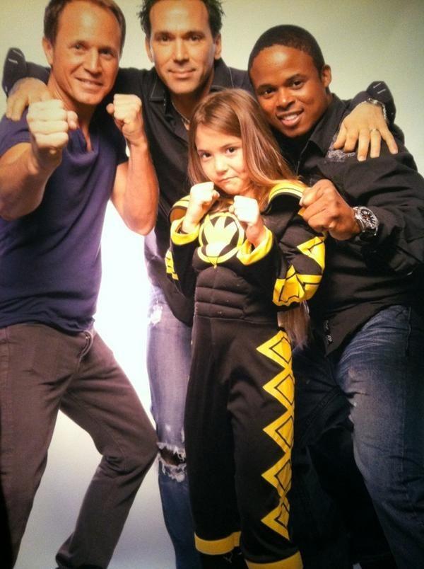 Morphin' Legacy • David Yost, Jason David Frank, his Daughter Jenna...