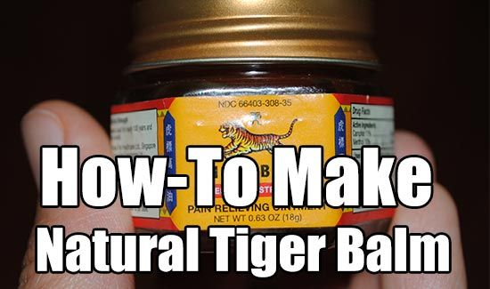 How To Make Natural Tiger Balm. Tiger Balm is a topical analgesic (pain reliever) medication made from herbal ingredients. cheap and easy to make.