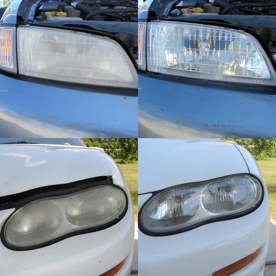 Headlight Restoration Near Me >> Get some toothpaste and put it on a dry cloth. Clean lights and rinse with water and wipe down ...