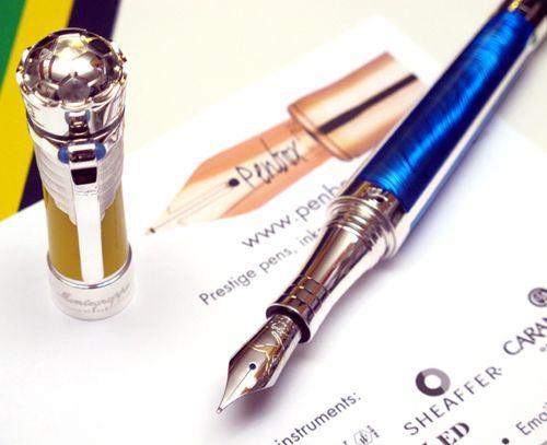 Montegrappa Pele Heritage fountain pen.