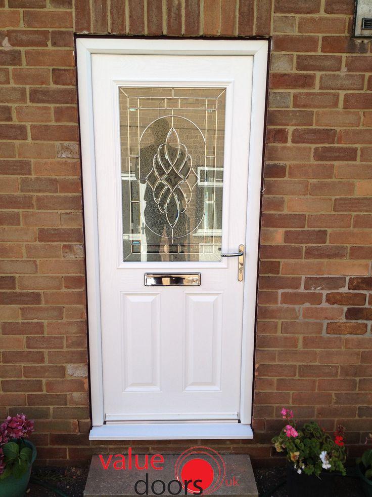 White Stylish Composite Doors from Value Doors UK & 58 best Super Stylish Doors images on Pinterest   Front doors ... pezcame.com