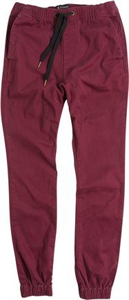 Maroon jogger pants. http://www.swell.com/New-Arrivals-Mens/ZANEROBE-SURESHOT-JOGGER-PANT-4?cs=YB