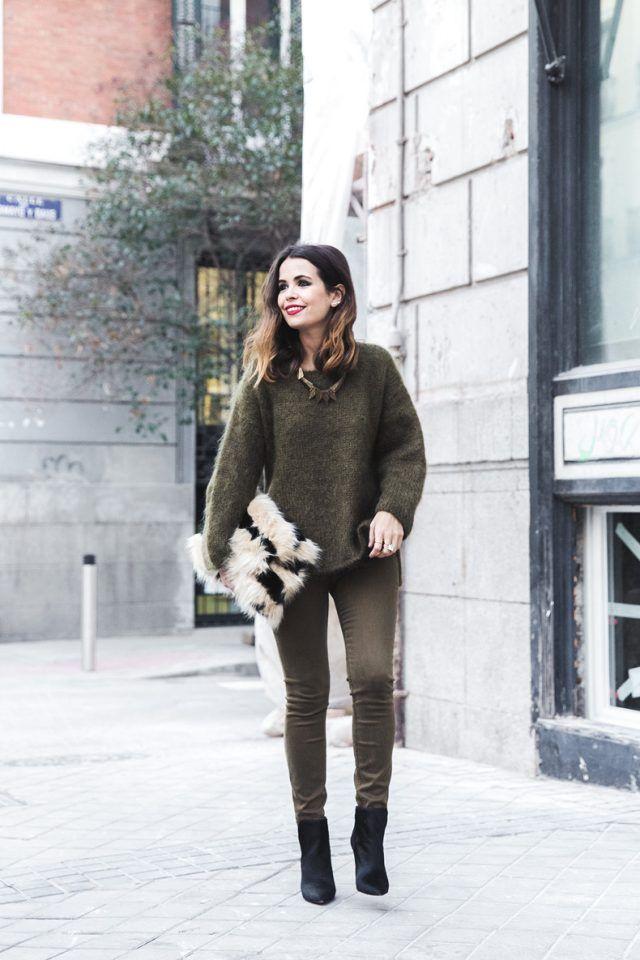 @roressclothes closet ideas #women fashion outfit #clothing style apparel Khaki Outfit via