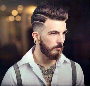 modern pompadour haircut - Google zoeken