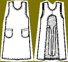kitchen apron pattern