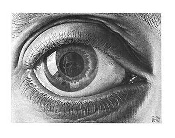 MC Escher...looking at death