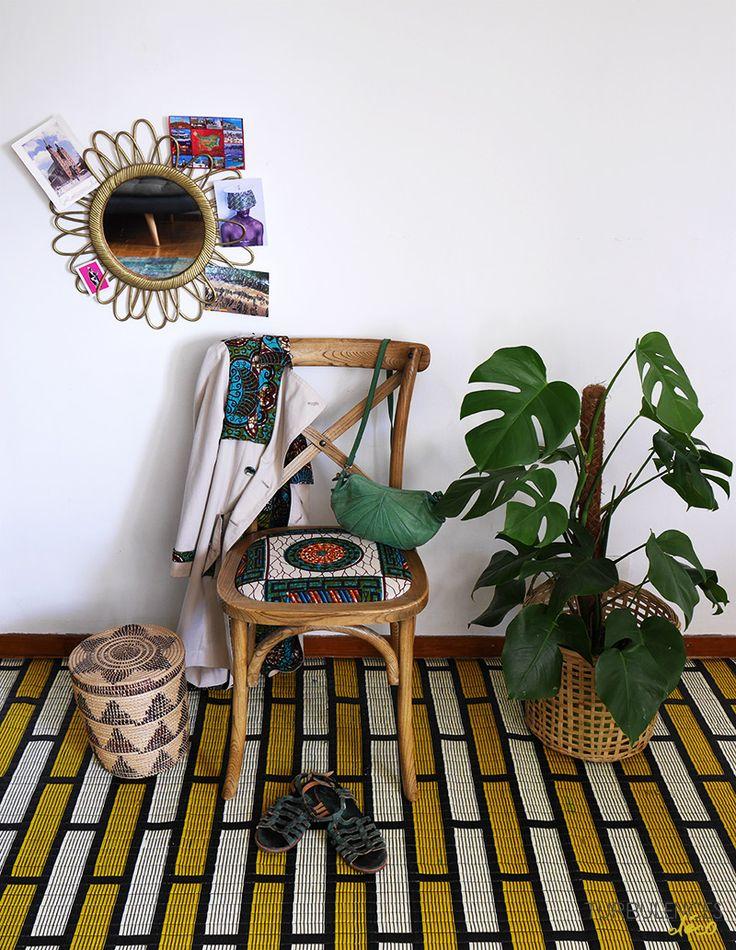 Se créer une chaise en wax très tendance