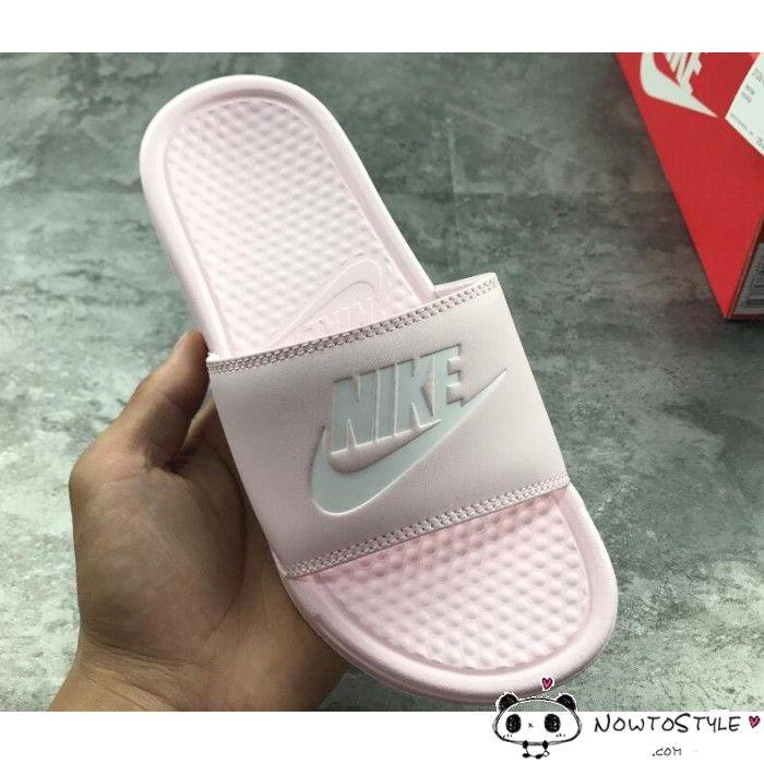 39985c68d07d1 Womens Nike Benassi JDI Slide Sandals All Pink