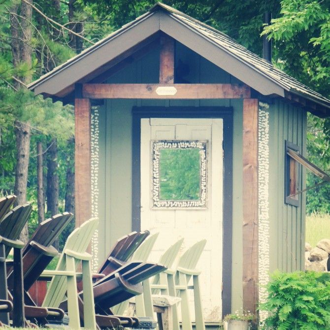 how to build an outhouse shed