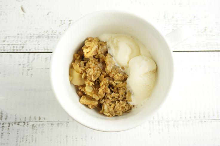 The Best Gluten Free Apple Crumble! | comfort food | Pinterest