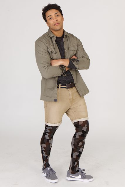 Hosiery For Men: More styles of Adrian men's tights now available at Activskin