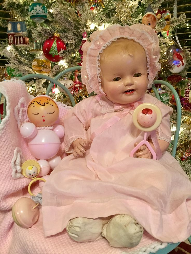 607 best Vintage Baby Doll images on Pinterest  Bear doll Baby
