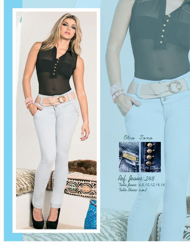 Jeans Colombianos Levanta cola, Colombian Butt lifting Jeans #LeandrusJeans#