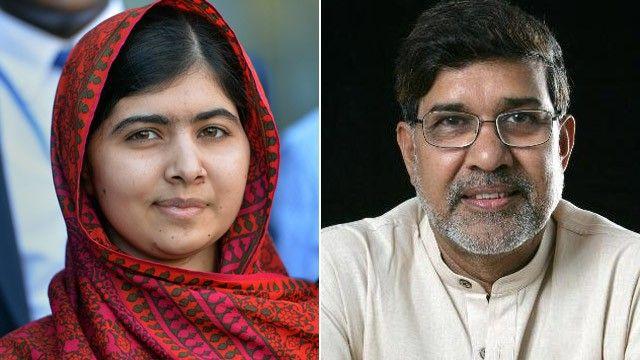 El premio NOBEL de la paz recae sobre la adolescente paquistaní Malala Yousafzai y el activista indio Kailash Satyarthi