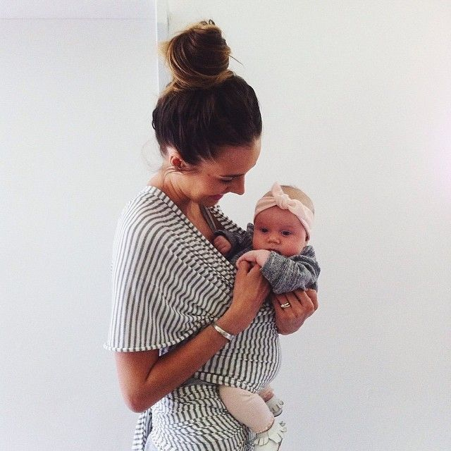 "@Bethany Menzel's photo: ""Pops got spoiled. We are loving the @Solly Baby and @Vonbon headbands!"""
