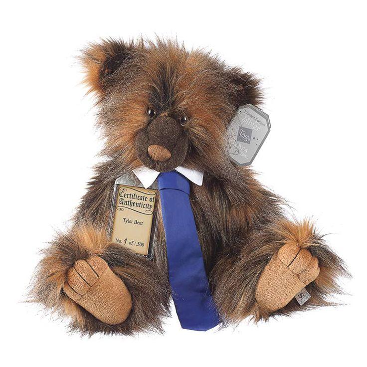 Suki Teddy Bear Tyler - Silver Tag Bear - Collection 4