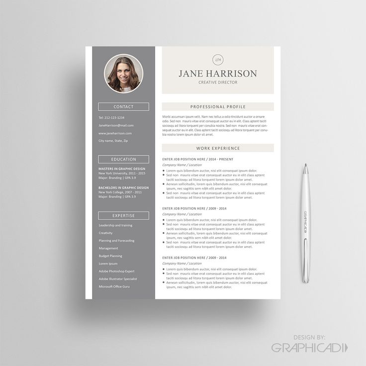 27 best etsy resume templates