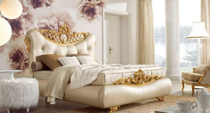 2016 lüks beyaz yatak odası görselleri