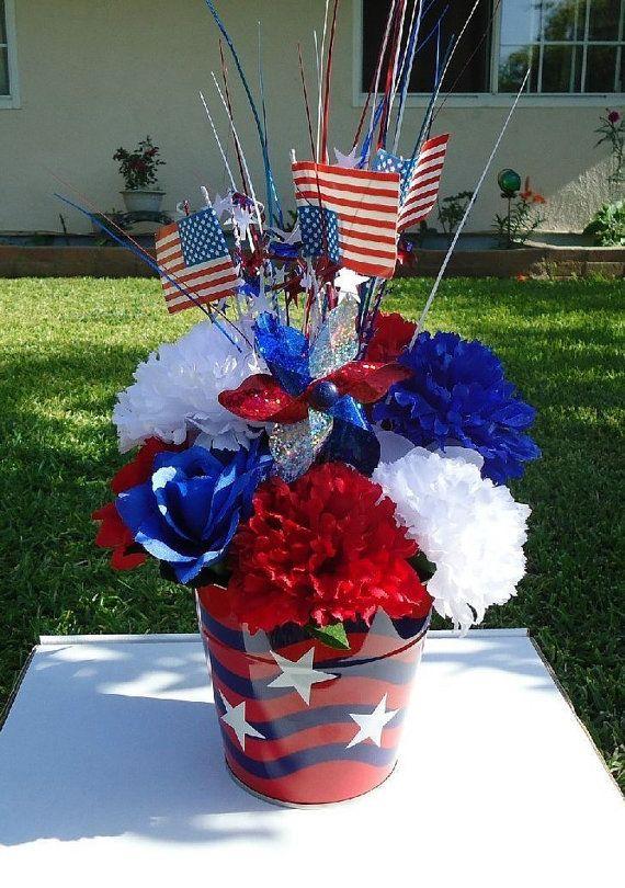 30 best Patriotic Floral Arrangements images on