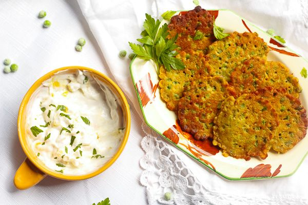 Gluten Free Pea Fritters (vegan and nut free) - Pea Fritters