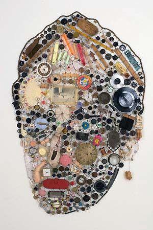 Amazing transformation of junk into art