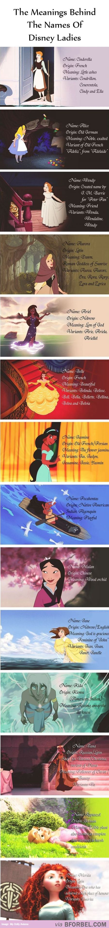 "Mulan's name literally means ""wallflower""."