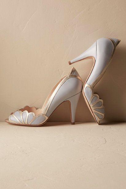 Sky Isabella Scalloped Heel | BHLDN