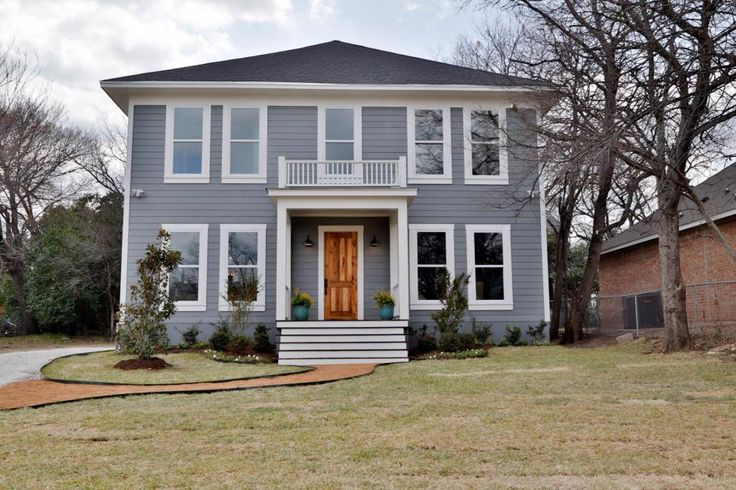 Fixer Upper Tackling The Beast Exterior Colors Furniture And A House