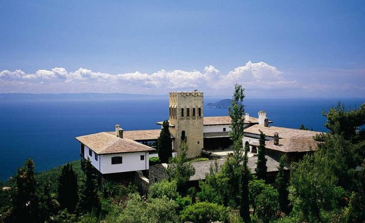 Yades Greek Historic Hotels - Villa Galini, a Boutique, Mansion property, located in Chalkidiki, Greece  http://www.historichotelsofeurope.com/property-details.html/villa-galini