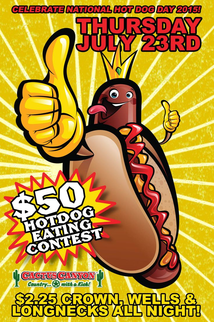 National Hot Dog Day Eating Contest