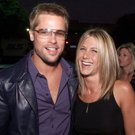 Brad Pitt Talking to Jennifer Aniston About Divorce 2017