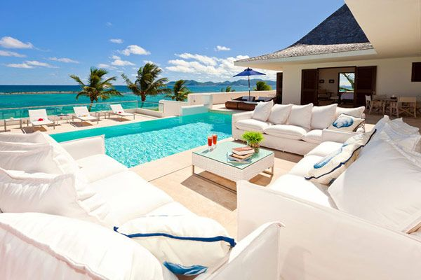 . poolside terrace .Dreams Home, Beach House, Outdoor Living, The View, Vacations Spots, Terraces Design, Pools Backyards, Beachhouse, Modern Pools