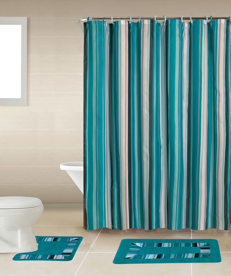 Buy Home Dynamix Bath Boutique Shower Curtain Set at Walmart.com - Free Shipping