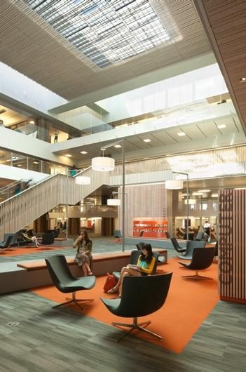 Library Interior Design Awards - Library Interior Design Awards | Project  Title: Odegaard Undergraduate Library