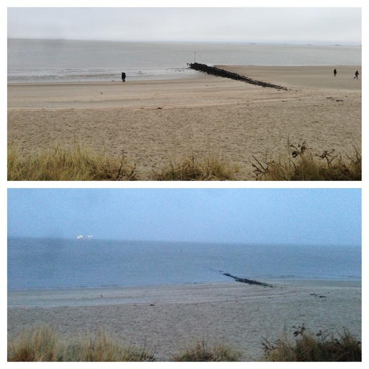 High tide / low tide Ebbe und Flut #wyk #nordsee