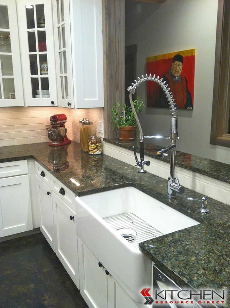 12 best kitchen sinks faucets images on pinterest kitchen sinks white farmhouse sink with stainless steel faucet white farmhouse sinkdiscount kitchen workwithnaturefo