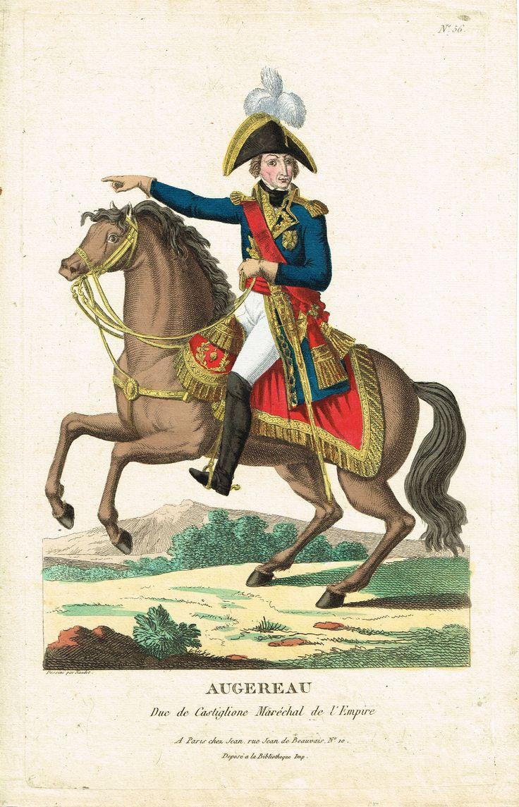 AUGEREAU - Duc de Castiglione - Maréchal d'Empire - à Paris chez Jean
