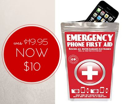 WEEKLY SPECIAL: Emergency Phone Pouch NOW $10 (was $19.95) #specials #emergencyphonefirstaid #giftsformen