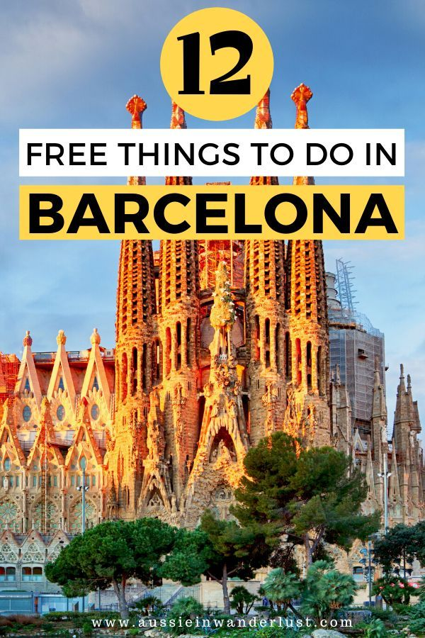 best places to visit in barcelona for free