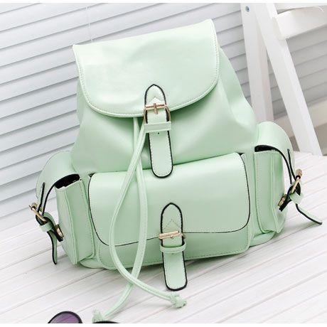 Sweet Mint Green Backpack